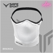 Mascara Esportiva Branca Safe Sport