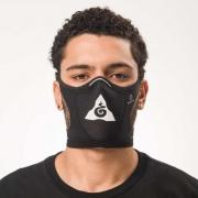 Máscara Esportiva Mahamudra Preta Safe Sport
