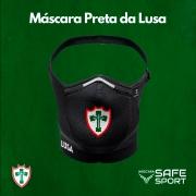 Mascara Safe Sport da Lusa Preta com Escudo Color