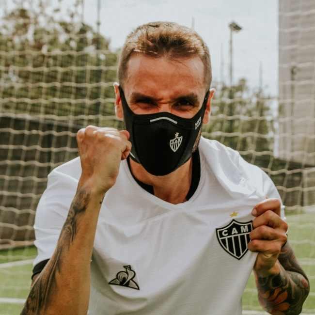 Combo 2 Máscaras Safe Sport Atlético Mineiro