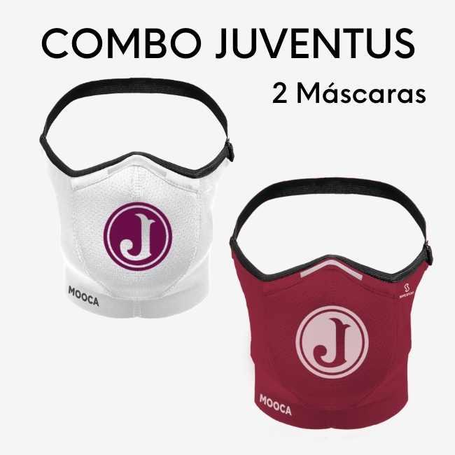Combos 2 Máscaras Safe Sport Juventus