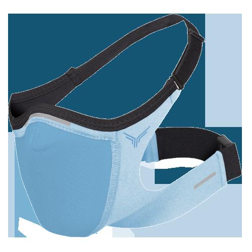 Mascara Esportiva Azul Clara Safe Sport