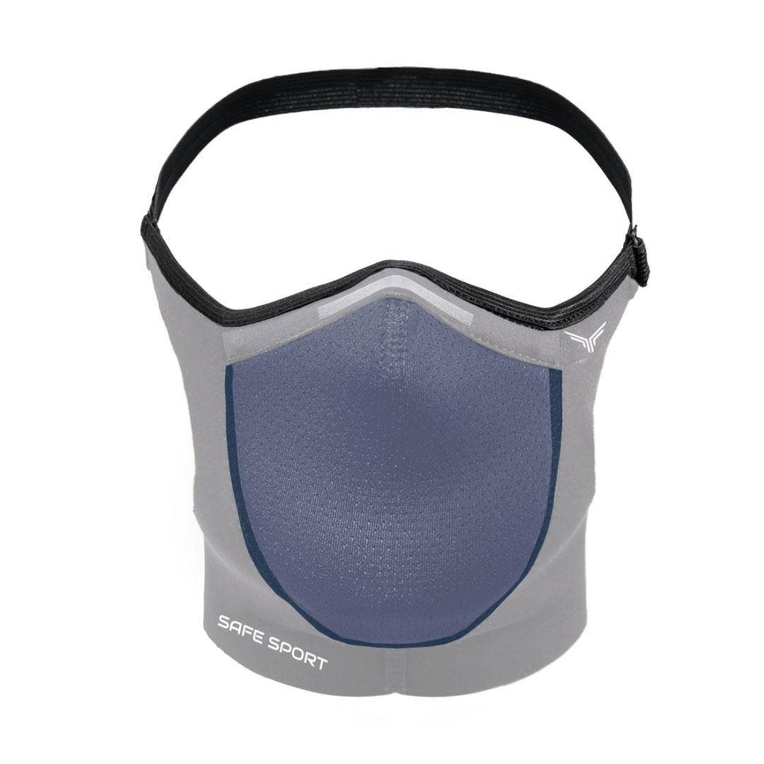 Mascara Esportiva Cinza Safe Sport