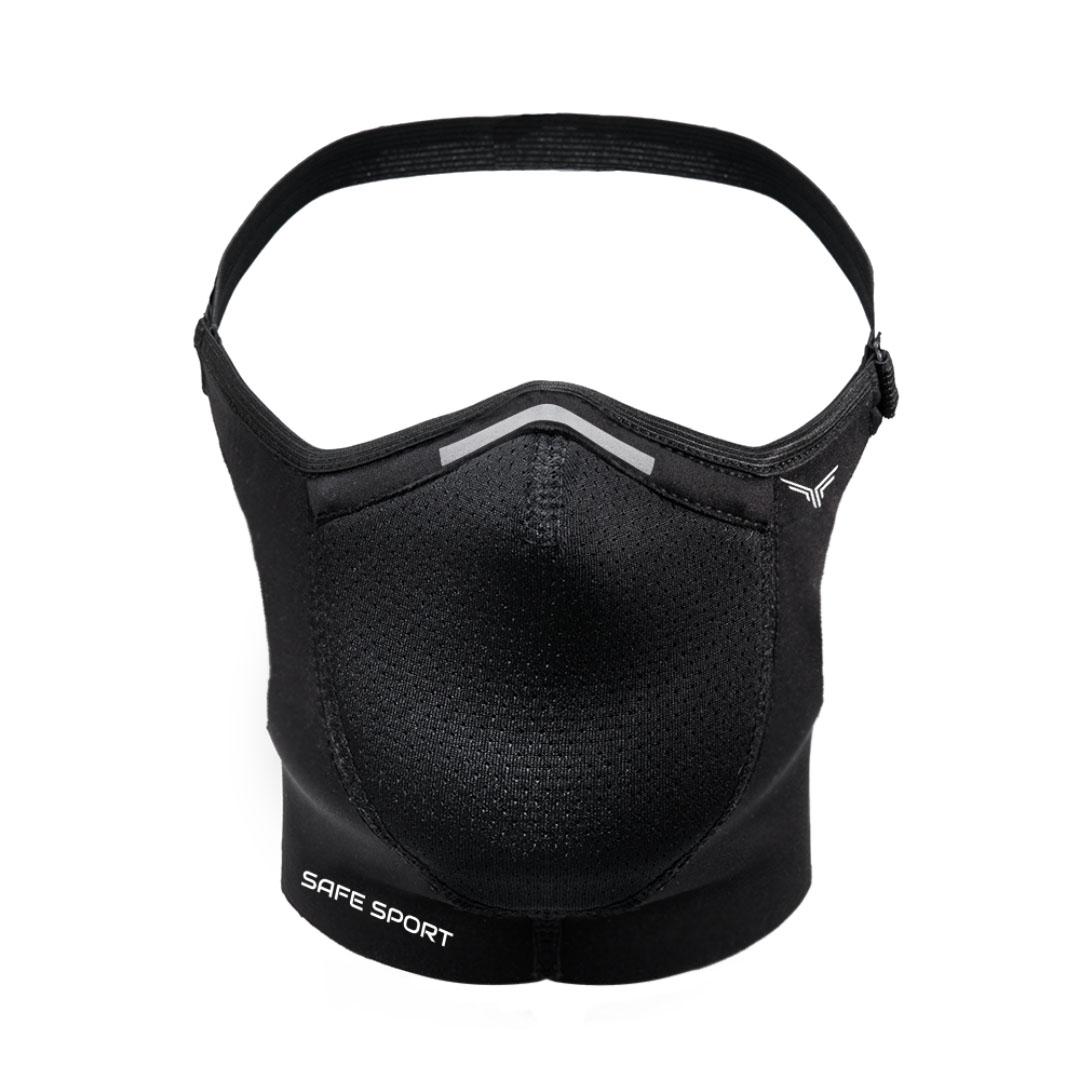Mascara Esportiva Preta Safe Sport