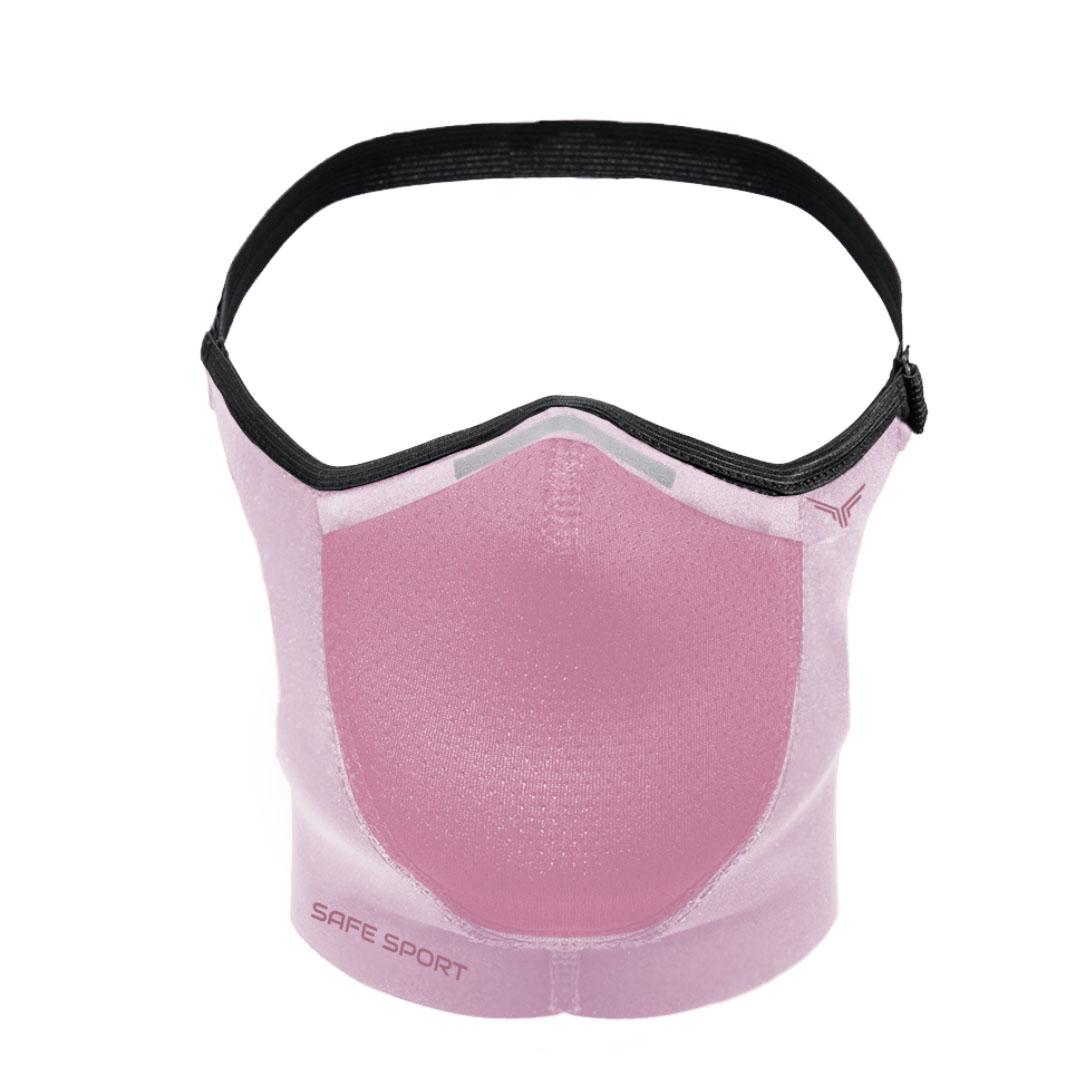 Mascara Esportiva Rosa Safe Sport
