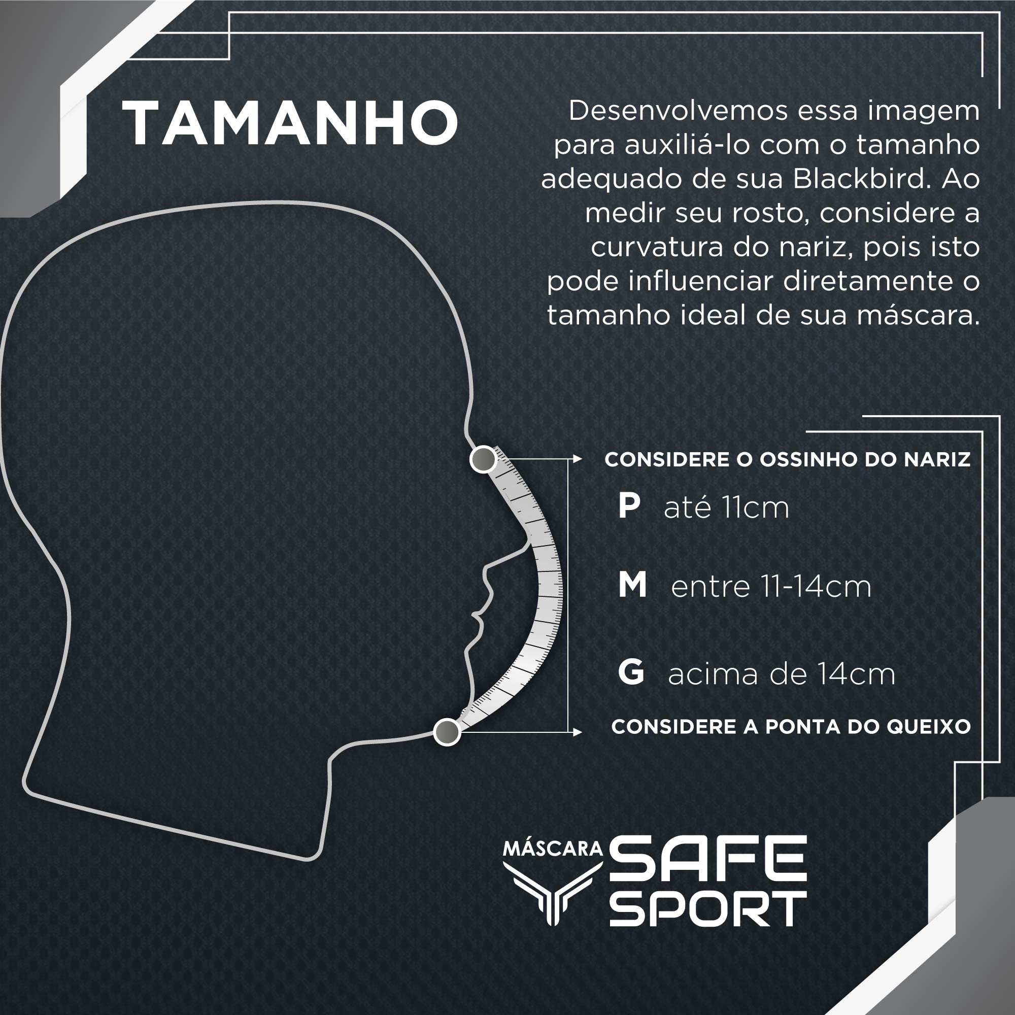 Máscara do Brasil Safe Sport Ed. Limit.