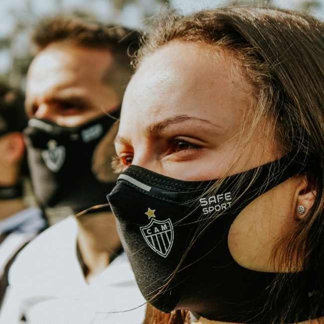Máscara do Atlético Mineiro