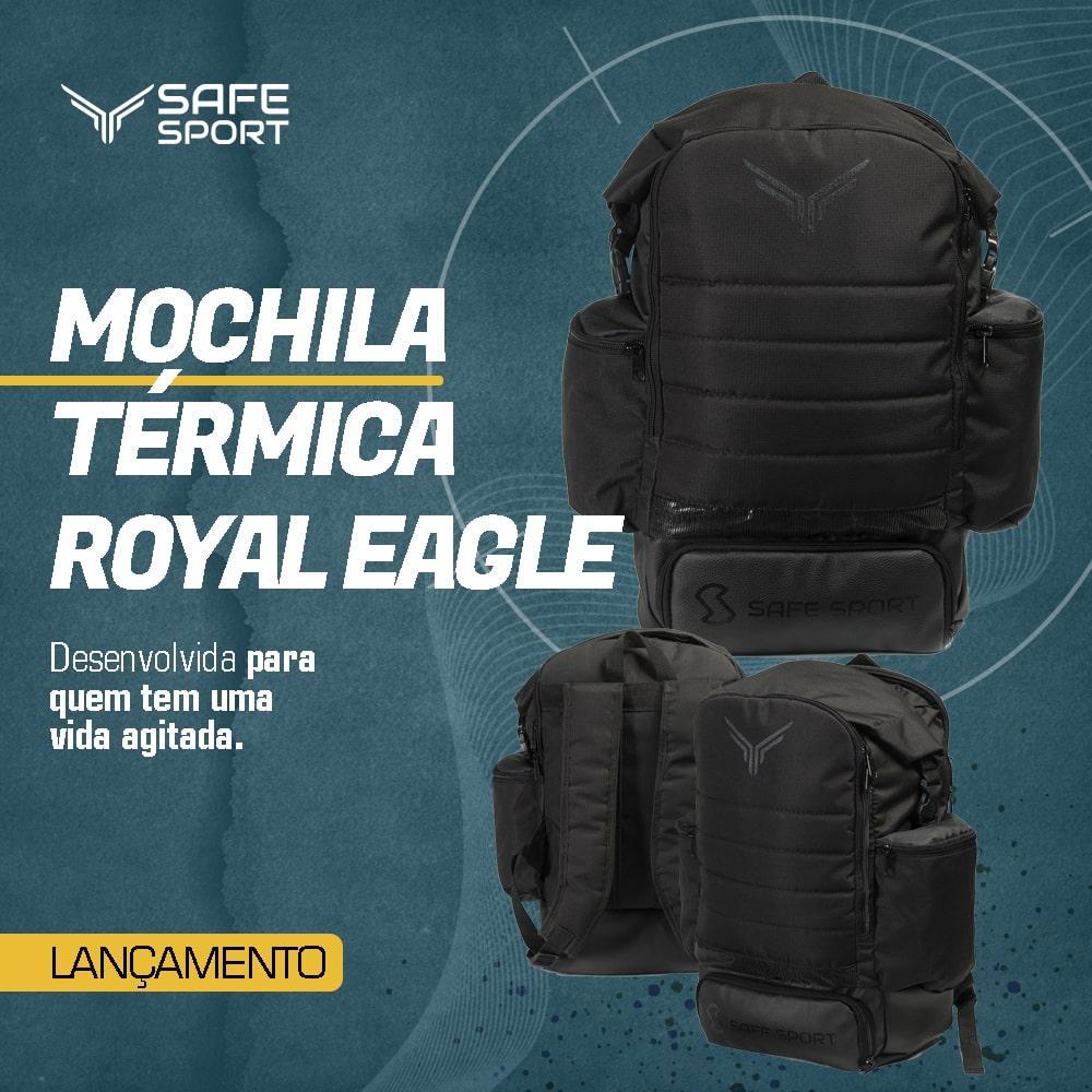 Mochila Térmica Royal Eagle Preta
