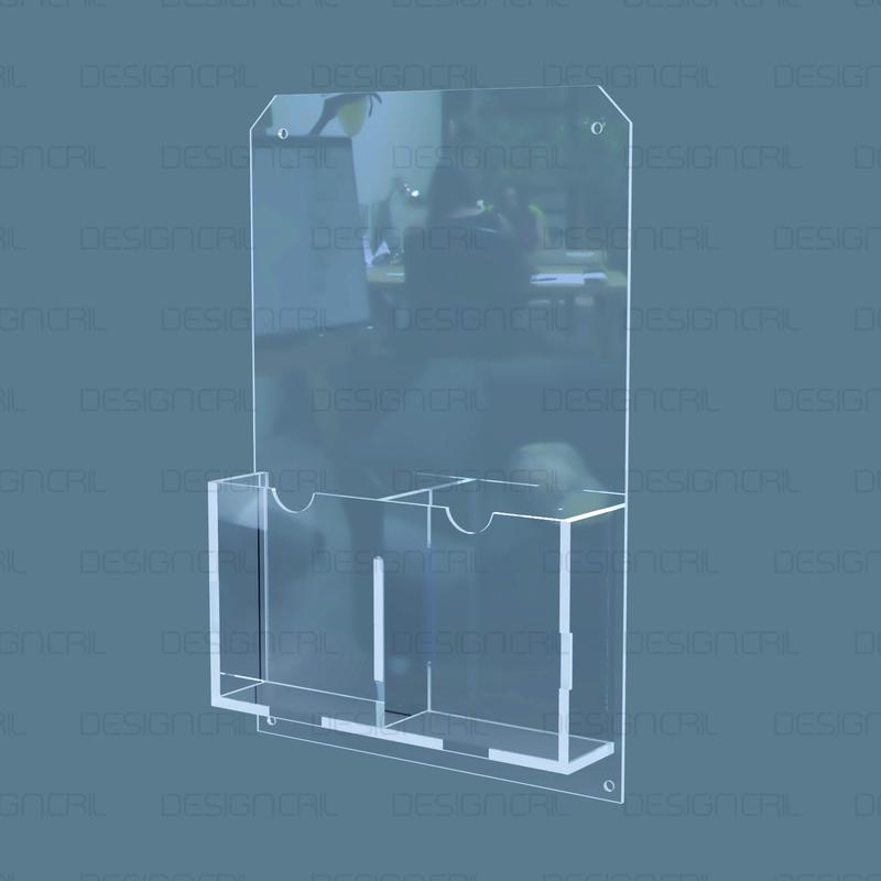 Porta Envelopes - 2 Bolsas