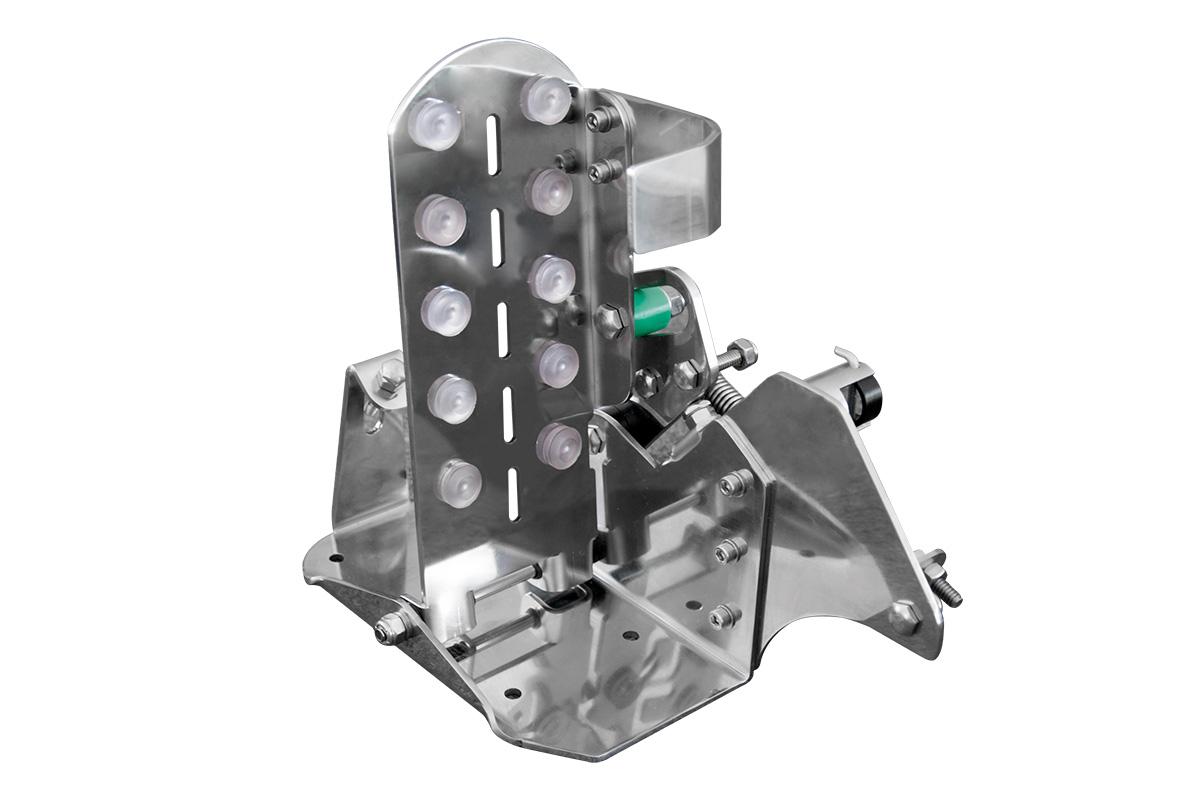 Acelerador de pedal para embarcações - Inox