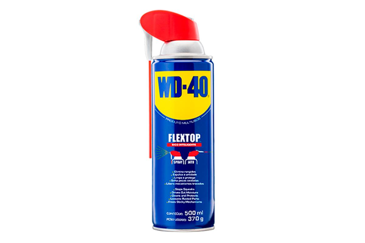WD-40® PRODUTO MULTIUSOS – EMBALAGEM FLEXTOP - 500ML (AEROSSOL)