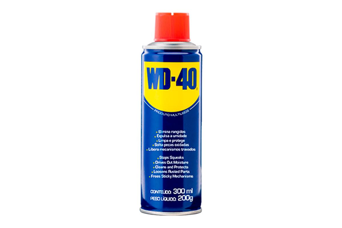 WD-40® PRODUTO MULTIUSOS - EMBALAGEM PRÁTICA 300ML (AEROSSOL)