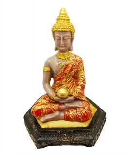 Buda Tibetano na Almofada