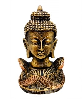 Cabeca Buda Hindu Dourada