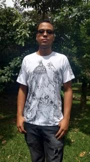 Camiseta Orixas Omulu / Obaluaê M