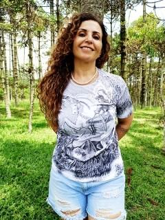 Camiseta Orixas Sao Jorge