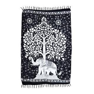 Canga Árvore da Vida Elefante Painel