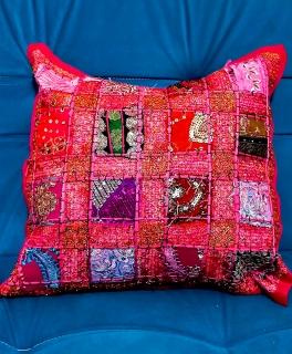 Capa Almofada Indiana Decoração Rosa