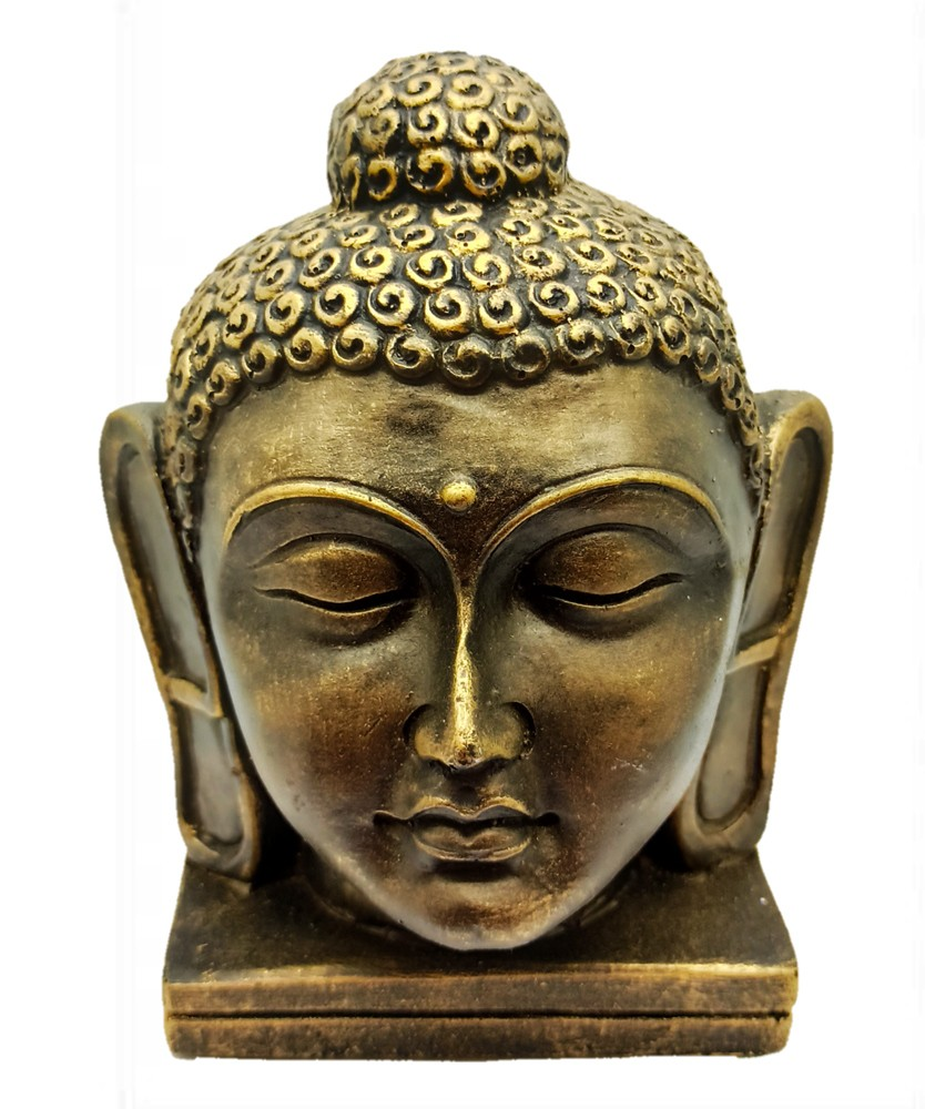 Cabeca de Buda Dourado