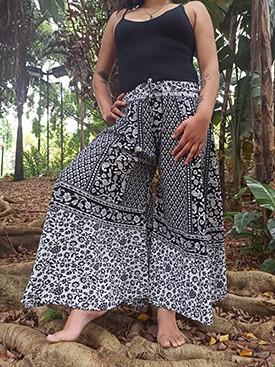 Calça Indiana Pantalona Mandala Exclusiva