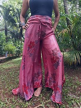 Calça Indiana Pantalona Rose Exclusiva
