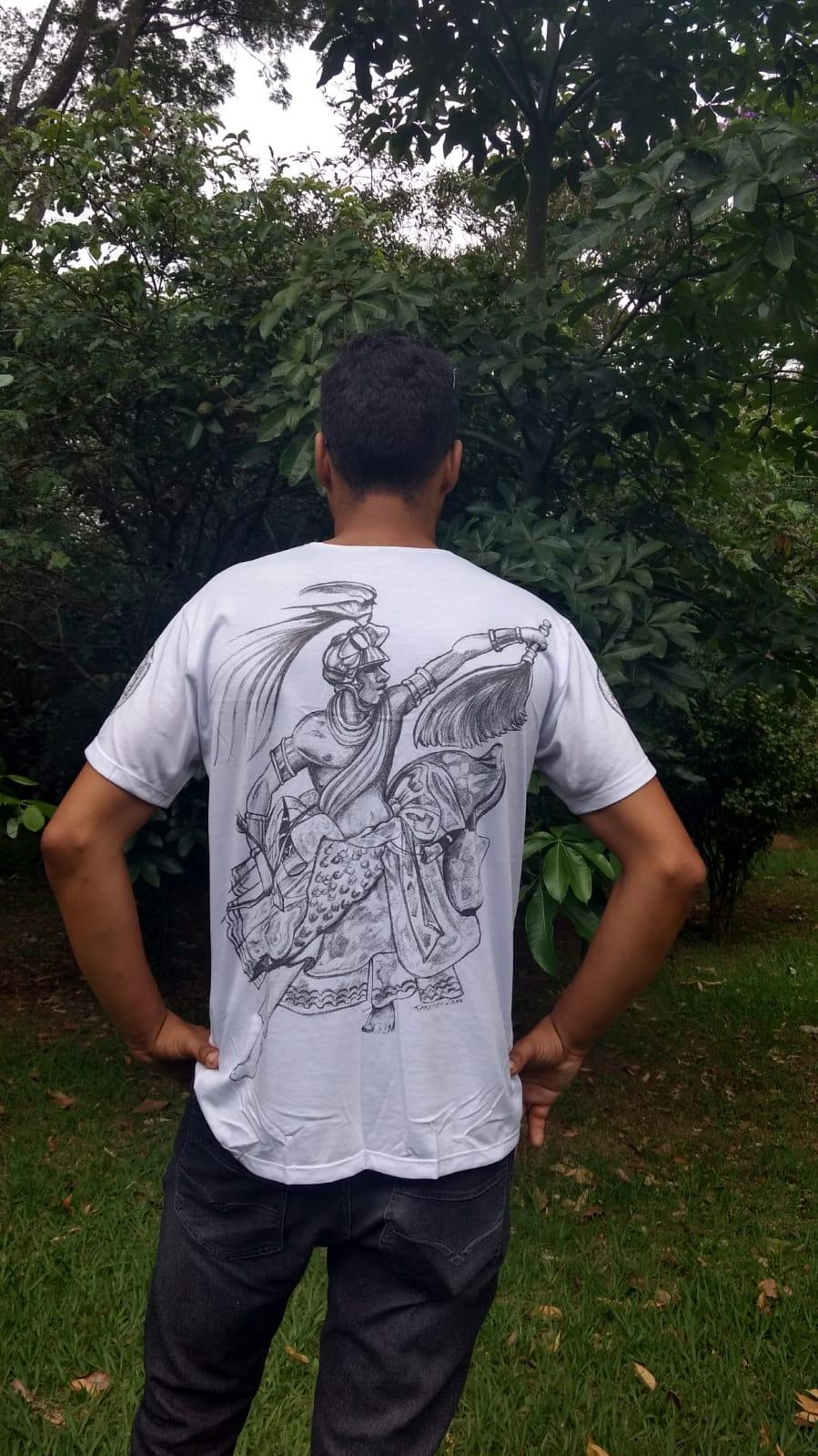 Camiseta Orixas Oxóssi M