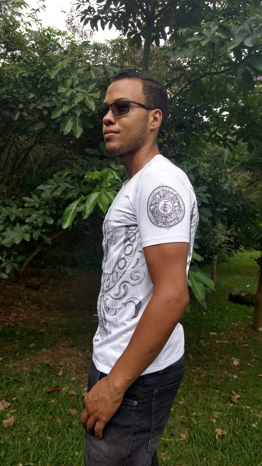 Camiseta Orixas Oxumarê GG
