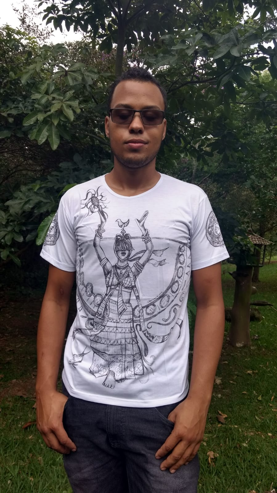 Camiseta Orixas Oxumarê P