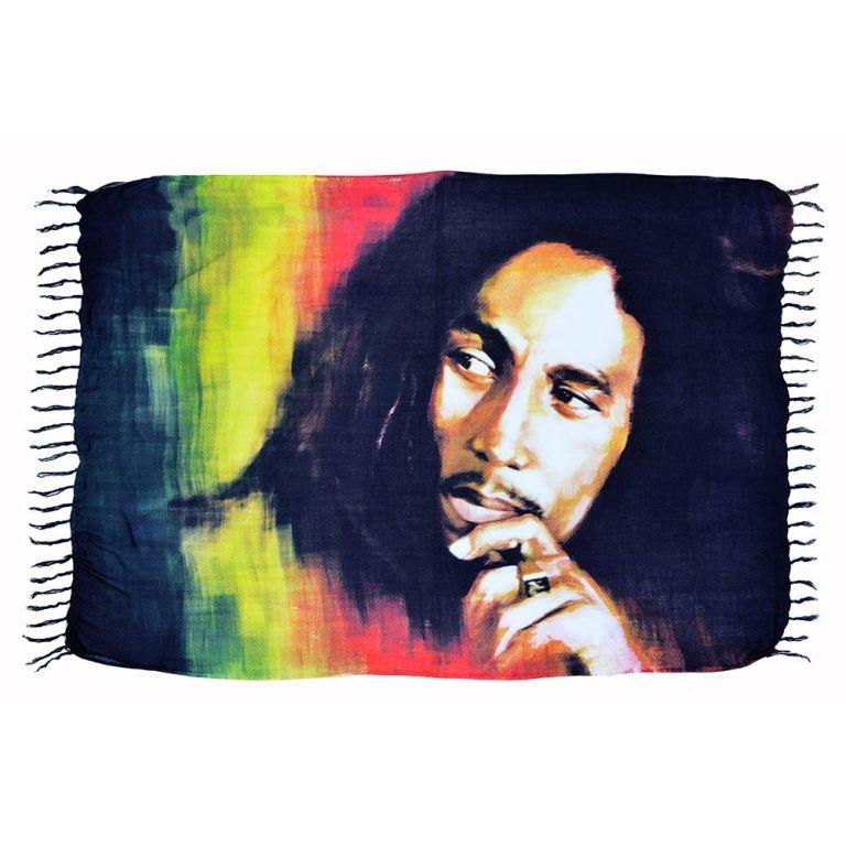 Canga De Praia Painel Bob Marley