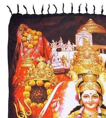 Canga Durga Rainbow Painel