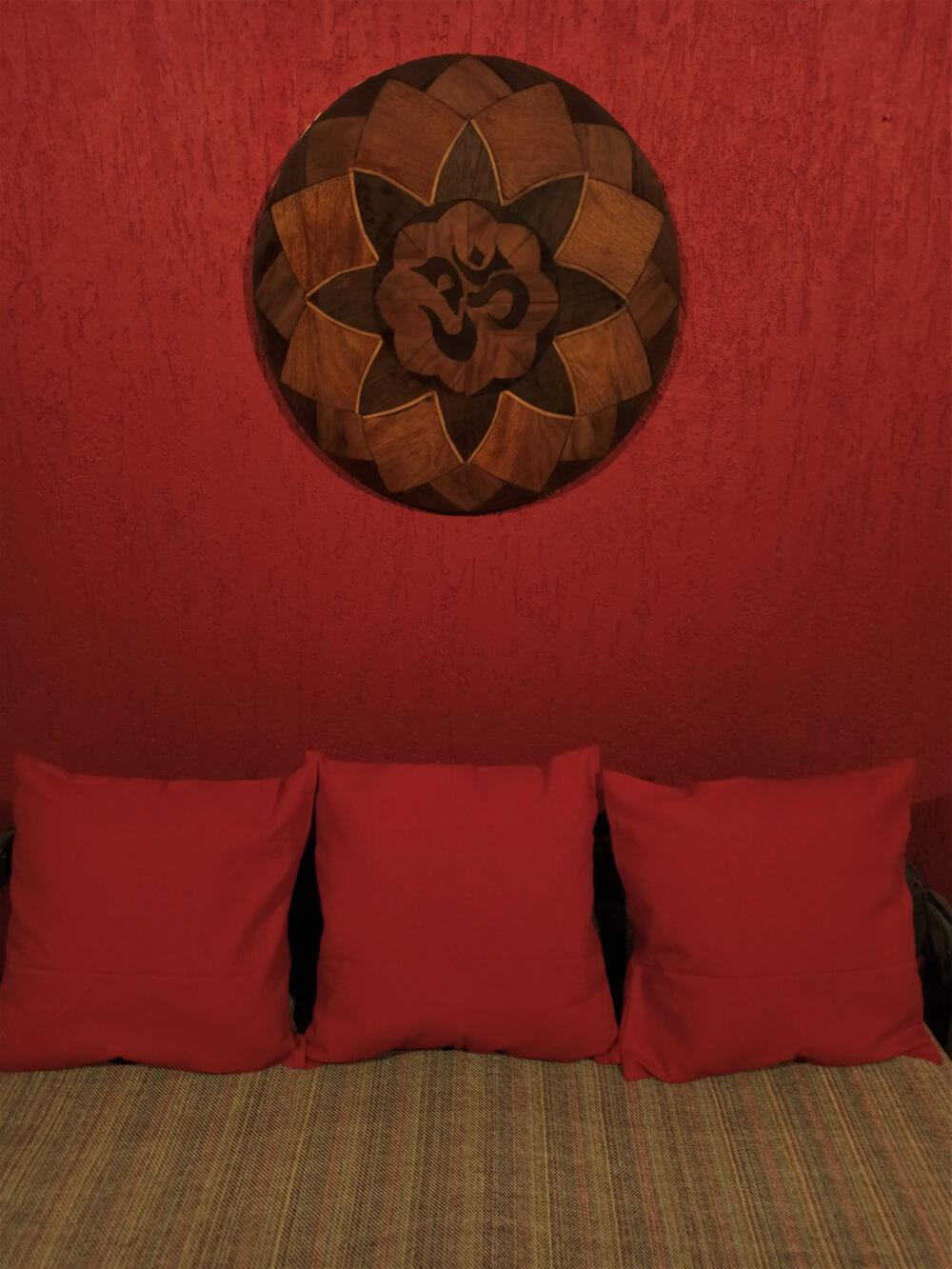 Capa Almofada Decoração Laranja Telha