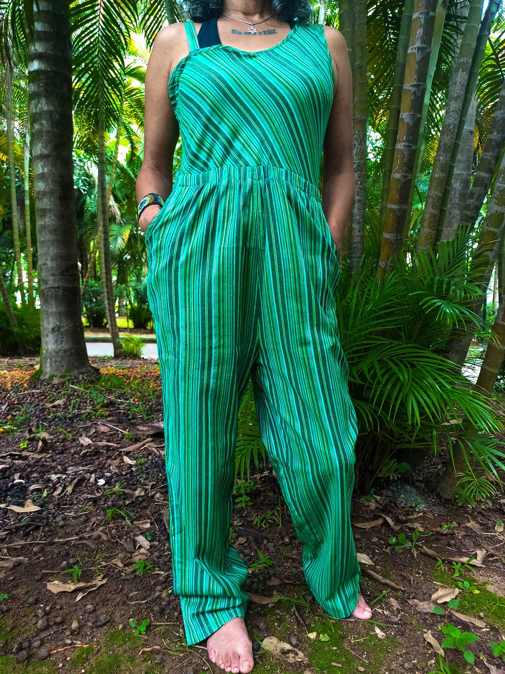 Macacão Indiano Verde