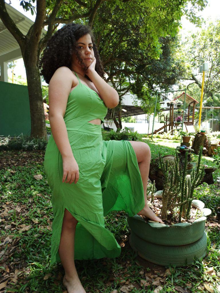 Macacão Pantalona Verde