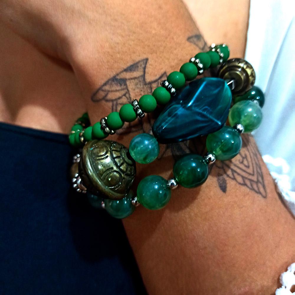 Pulseira Pedra Jade