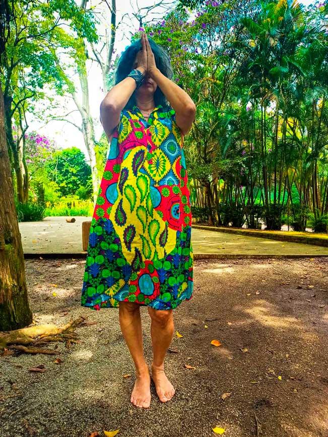 Vestido Indiano Curto Stone Estampado Exclusivo