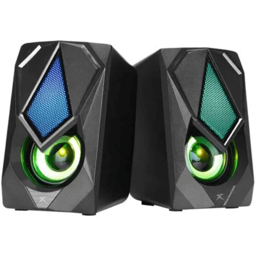 Caixa de Som Gamer Xtrike-me SK-402 RGB 2x3W USB SK-402