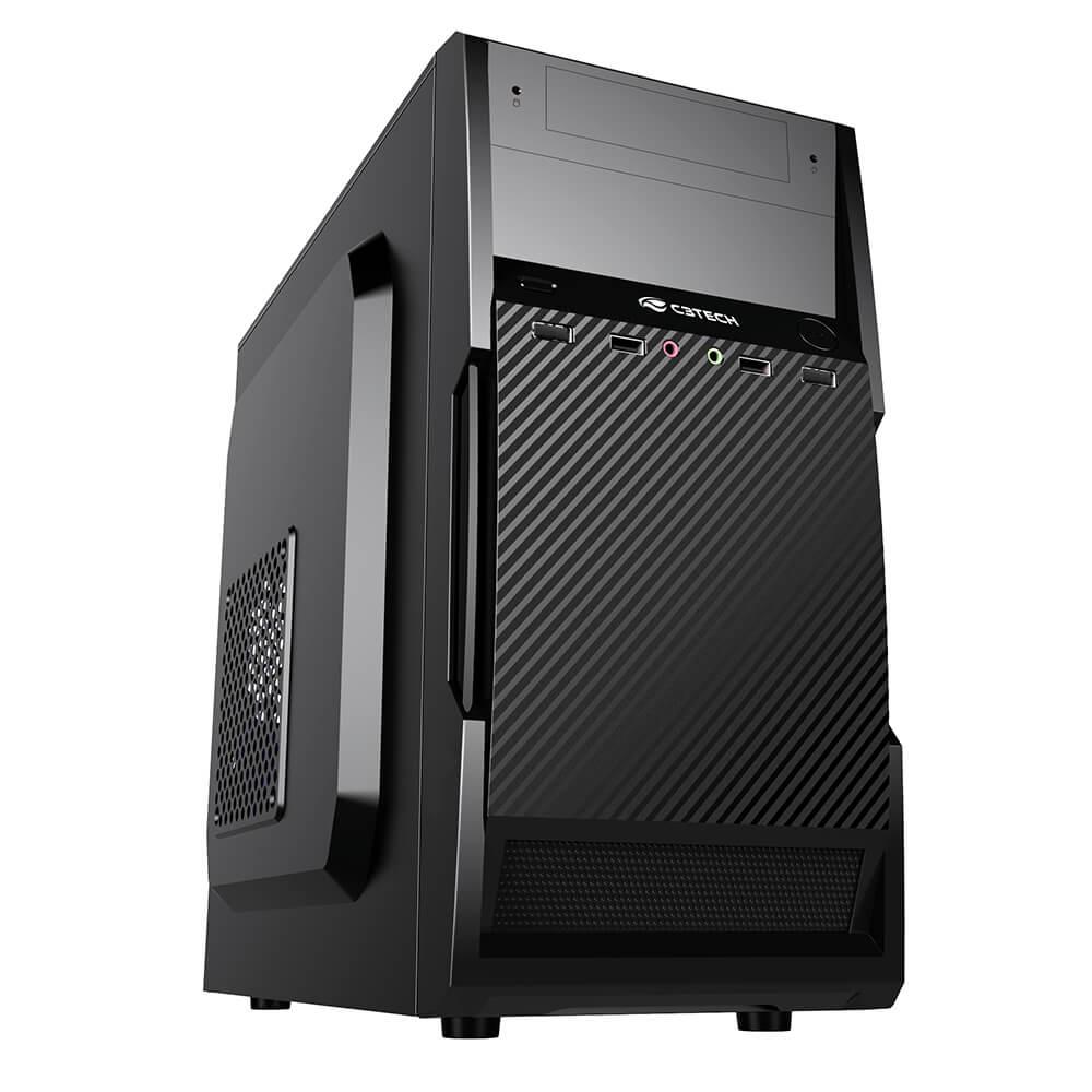 Computador Desktop AMD Duo Core 2.41GHz, 4GB DDR3, SSD 120GB