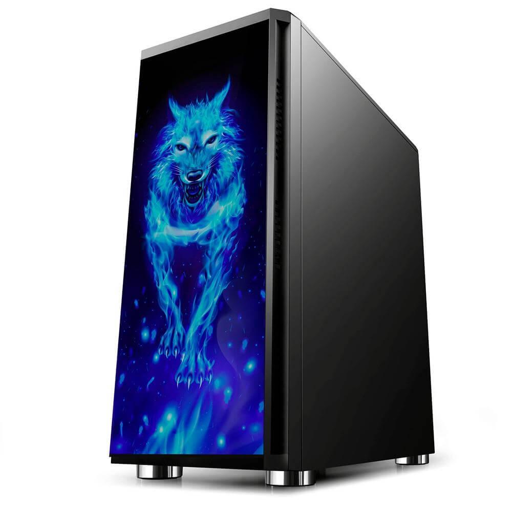 Computador Gamer AMD Ryzen 3 3100 3.6GHZ, RX 550 2GB DDR5, 8GB DDR4, SSD 240GB