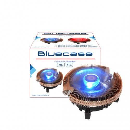 Cooler Bluecase Universal Intel E Amd Aluminio Com Led