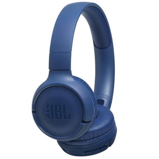 Fone de Ouvido JBL Tune Bluetooth Azul - JBLT500BTBLU