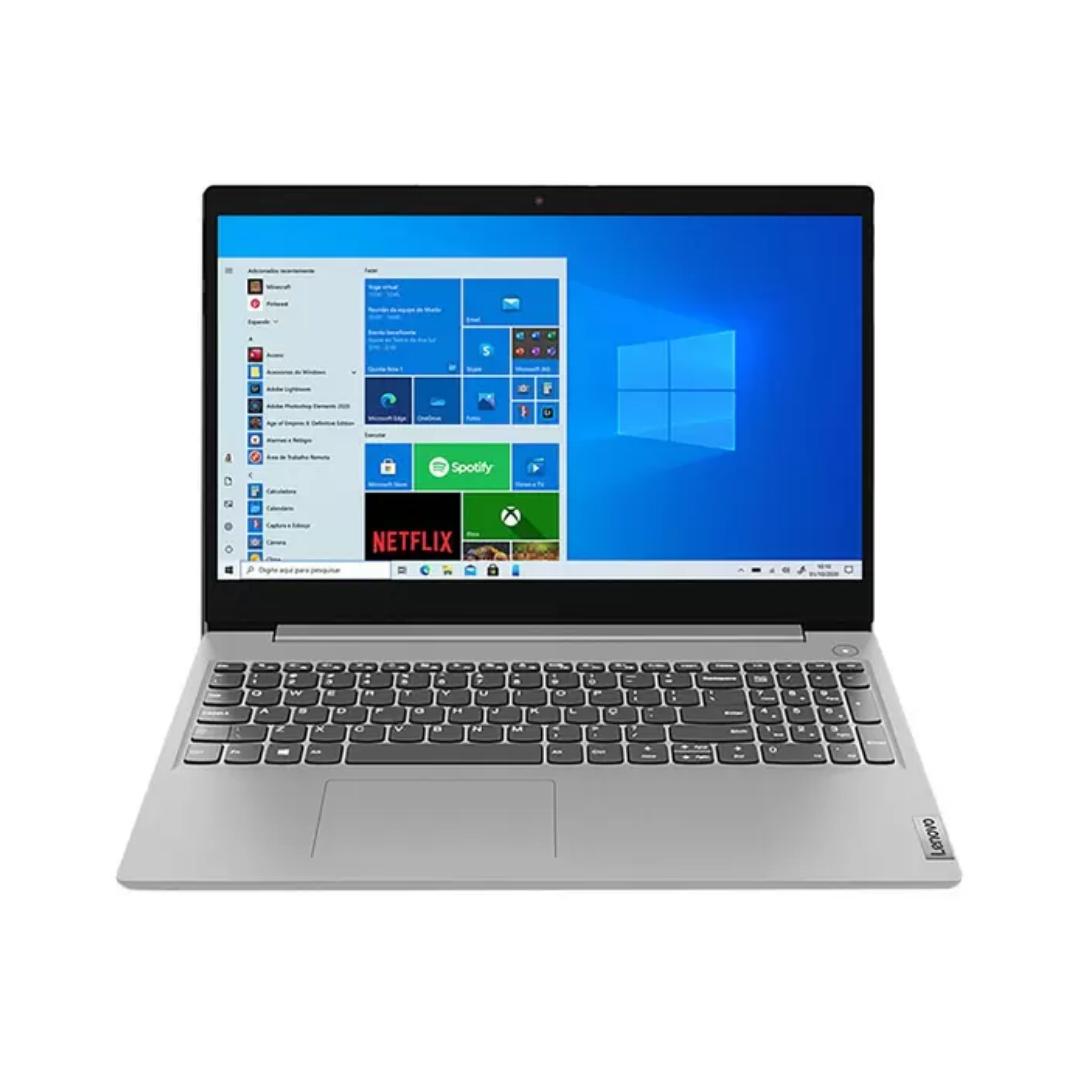 Notebook Lenovo Intel Core i3-10110U, 4GB Ram, HD 1TB, Tela 15,6 Windows 10