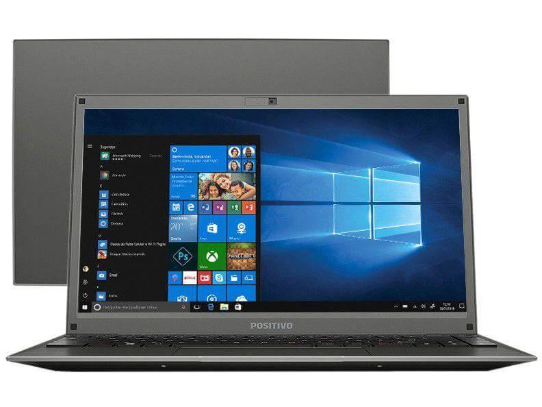 Notebook Positivo Motion C464D Intel® Dual-Core™ Windows 10 Home 14