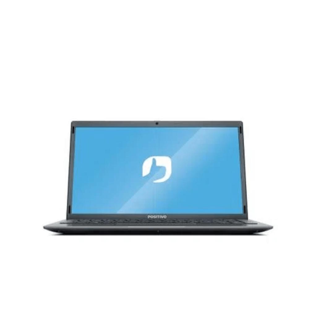 Notebook Positivo Motion Q464C Intel Atom Quad Core 4GB 64GB eMMC 14,1'' W10 - Cinza