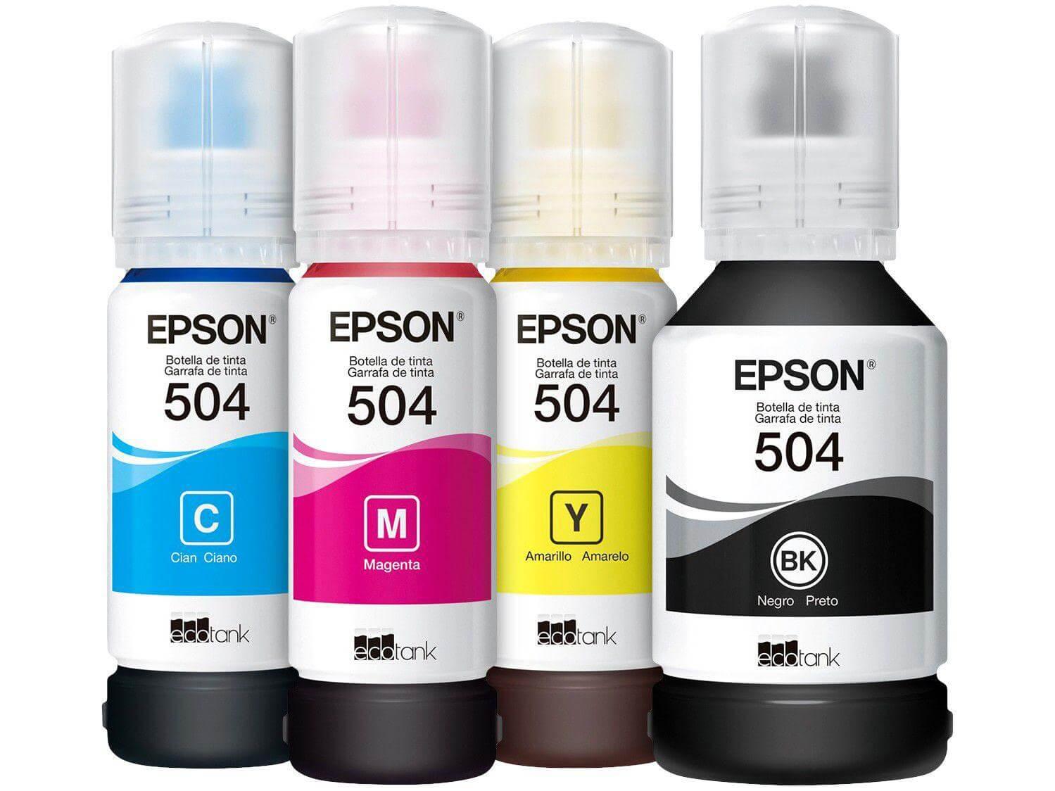 Tinta Epson 504 70ml Original