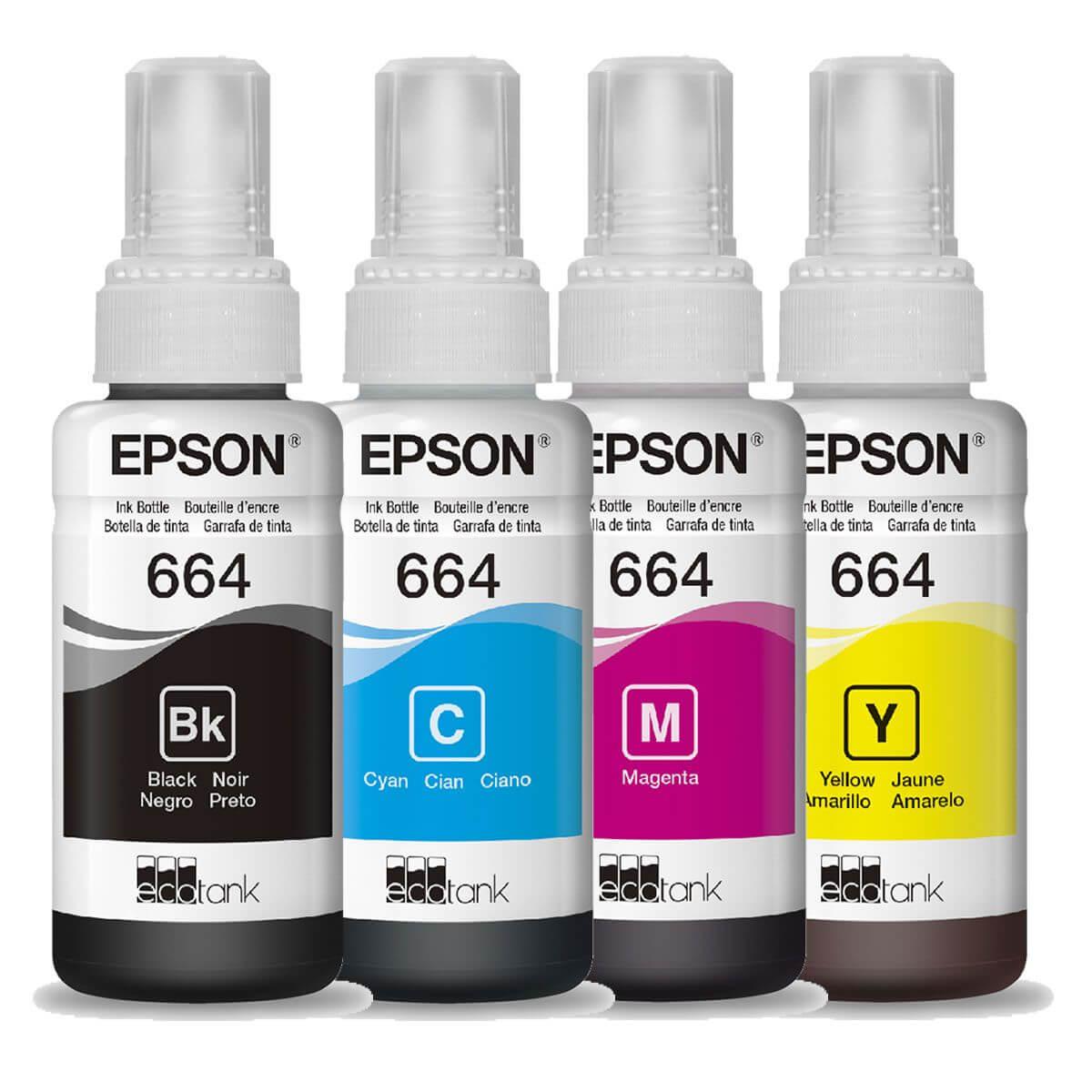 Tinta Epson 664 70ml Original