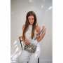Satchel Adriana Print Zebra
