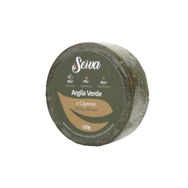 Argila Verde e Cipreste - Peles Oleosas - 120g
