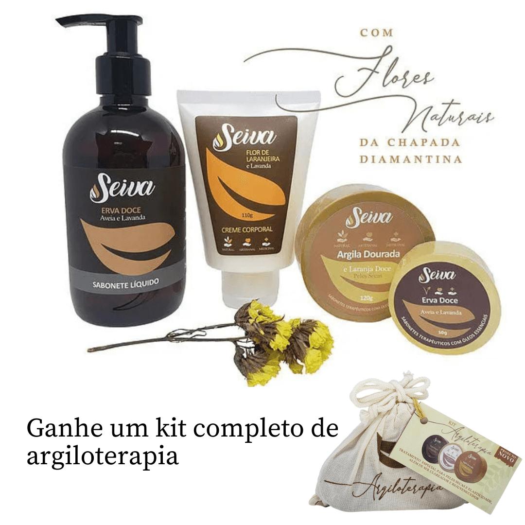 Kit Presente - Creme Flor de Laranjeira