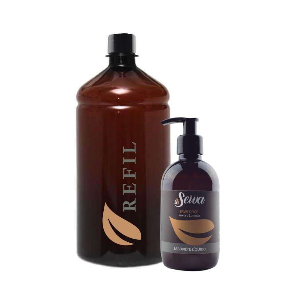 Sabonete Líquido - Refil de 1 litro Erva Doce