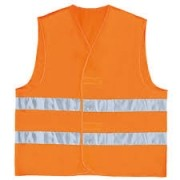 Colete Blusão de Alta Visibilidade Refletivo - Gilp2 Laranja Tamanho G